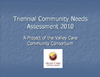 Community Needs Assessment 2010