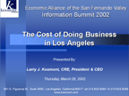 Cost of Doing Business 2002