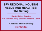Regional Housing Needs PPT